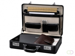 Attaché-case Rillstab President noir
