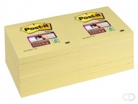 Bloc-mémos 3M Post-it 654-SSY 76x76mm jaune