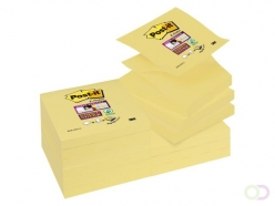 Bloc-mémos 3M Post-it SS Z-Notes S330-Y 76x76mm jaune