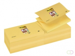 Bloc-mémos 3M Post-it SS Z-Notes S350-Y 76x127mm jaune