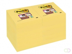 Bloc-mémos Post-it 622-SSY Super Sticky 51x51mm jaune