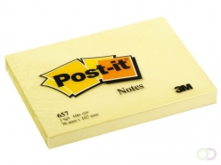 Bloc-mémos Post-it 657 76x102mm jaune