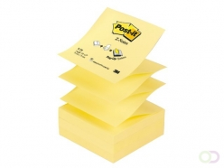 Bloc-mémos Post-it Z-Notes R330 76x76mm jaune