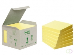 Bloc-mémos Post-it Z-Notes recyclé R330-1B 76x76mm jaune
