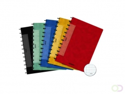 Cahier Adoc Classic A4 carreau 4x8mm 144 pages assorti