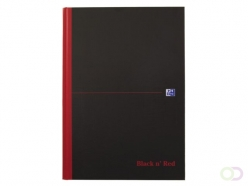 Cahier Oxford Black&Red A4 96 feuilles lignée assorti