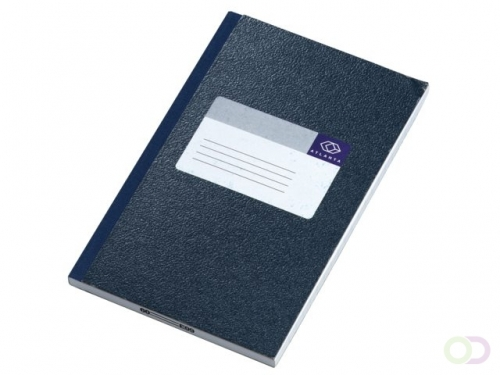 Carnet de notes in-octavo Atlanta 200 pages bleu