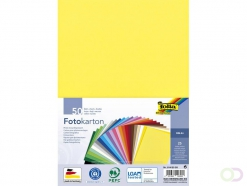 Carton photo Folia A4 paquet 50 feuilles assorti