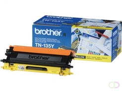 Cartouche toner Brother TN-135Y jaune