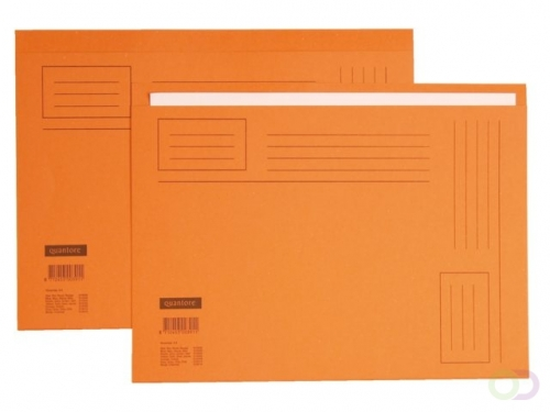 Chemise Quantore In-folio bord décalé 250g orange