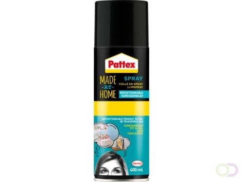 Colle Pattex Hobby aérosol non-permanent 400ml