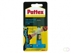 Colle seconde Pattex Ultra Gel tube 3g sous blister