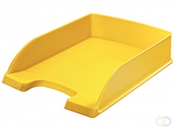 Corbeille à courrier Leitz 5227 Plus Standard jaune