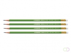 Crayon Stabilo GREENgraph HB avec bout gomme
