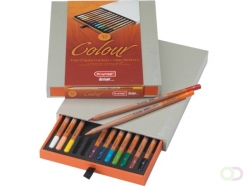 Crayons Couleur Bruynzeel Colour Box 12 couleurs assorties