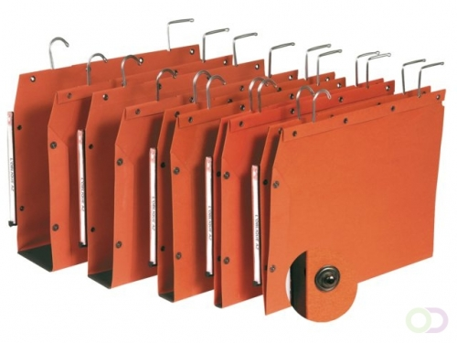 Dossier suspendu Elba TUB in-folio fond V  orange