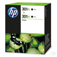 HP 301XL 2-pack Black