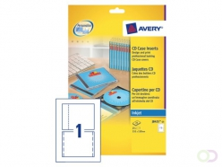 Jaquette CD Avery J8435-25 151x118mm 165g