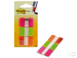 Marque-pages 3M Post-it 686PGO strong rose/vert/orange