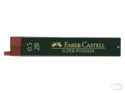 Mines Faber-Castell 0,5mm 2B 12 pièces