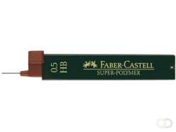 Mines Faber-Castell 0,5mm HB 12 pièces