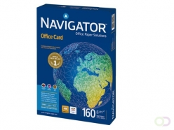 Papier copieur Navigator Office Card A4 160g blanc 250fls