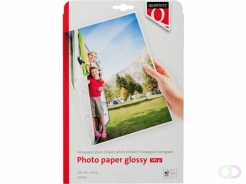 Papier photo Quantore A4 195g brillant 50 feuilles