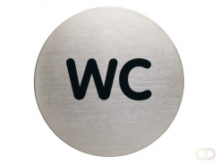 Pictogramme Durable 4907 WC rond 83mm