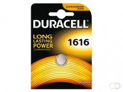 Pile bouton Duracell 1616 lithium