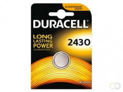 Pile bouton Duracell 2430 lithium