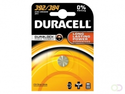 Pile bouton Duracell 392 alcaline