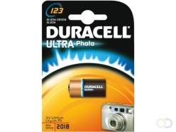 Pile Duracell Ultra 123 lithium