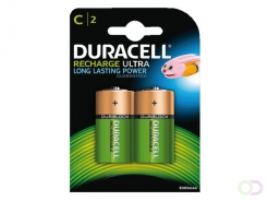 Pile rechargeable Duracell 2xC 2200mAh staycharged