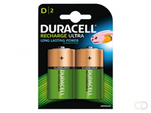 Pile rechargeable Duracell 2xD 2200mAh staycharged