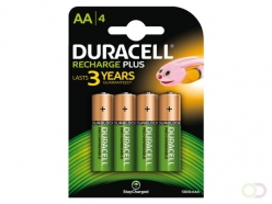 Pile rechargeable Duracell 4xAA 1300mAh staycharged