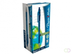 Stylo Bille Paper Mate Flexgrip Ultra Medium bleu 30+6grat
