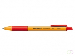 Stylo Bille Stabilo Pointball 0,5 mm Rouge