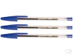 Stylo Bille Stick Quantore Medium Bleu