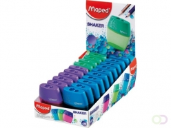Taille-crayon Maped Shaker 2 usages Assorti