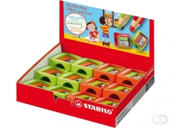 Taille-crayon Stabilo Woody 4548/12 Assorti
