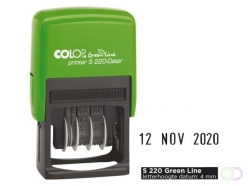 Tampon Dateur Colop S220 Green Line 4mm