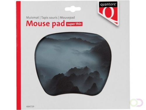 Tapis souris Quantore ultra-mince 20,5x0,5x21,7mm